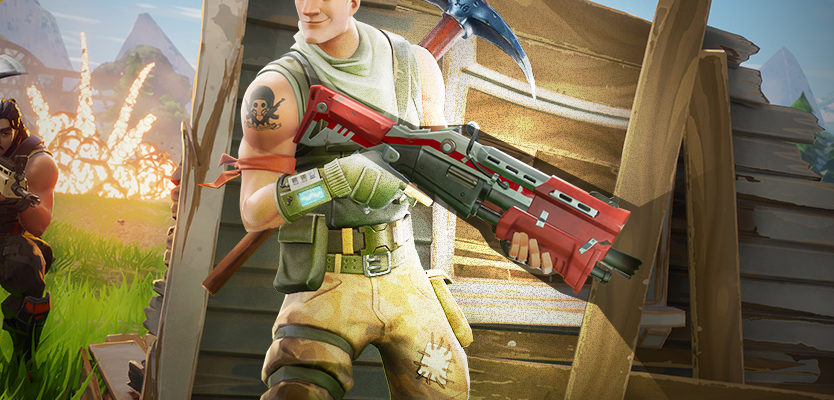 Fortnite Double Pump Action Shotgun trick and weapon switch